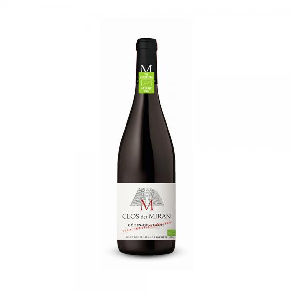 """קלו דה מירן קוט דה רון יין אדום יבש 750 מ""""ל"""